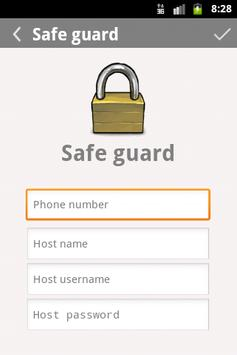 Safe Guard screenshot 2