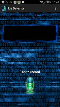 Lie Detector Voice poster
