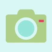 무음 카메라 (조용한 고화질 카메라, 셀카) icon