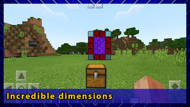 Mysterious Dimensions Adventure. Map for MCPE screenshot 5