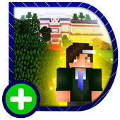 Amazing High School. Map for MCPE icon