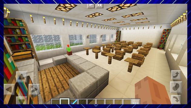 Amazing High School. Map for MCPE screenshot 8