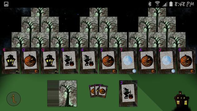 Spooky Scary Solitaire apk screenshot