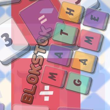 Blokstok Maths Quiz Game poster