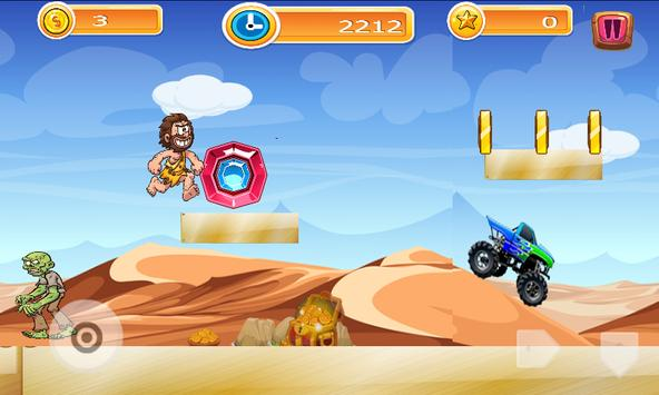 CaveMan Adventure apk screenshot