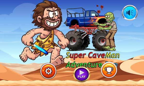 CaveMan Adventure poster