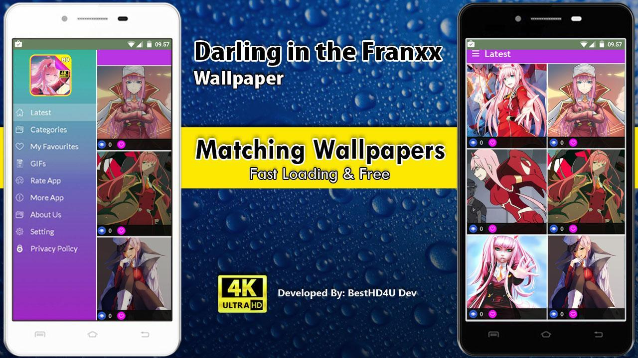Darling in the Franxx Wallpaper poster Darling in the Franxx Wallpaper screenshot 1 ...