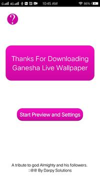 Ganesha Live Wallpaper screenshot 3