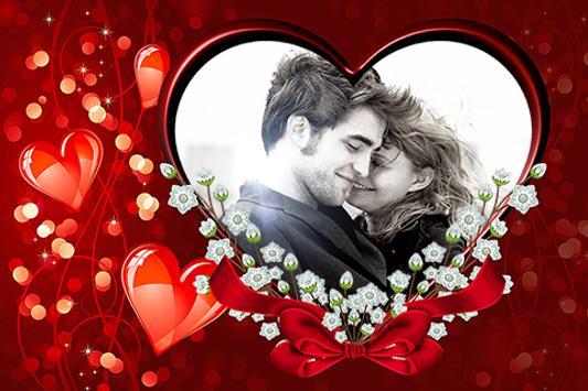 happy valentines photo frames apk screenshot - Valentines Picture Frames