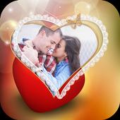 Lovely Heart Photo Frames icon