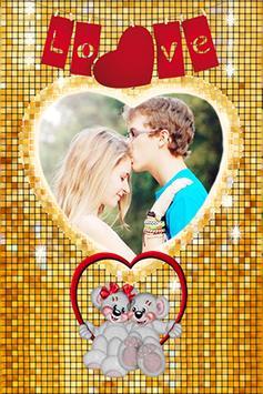 Lovely Heart Photo Frames apk screenshot