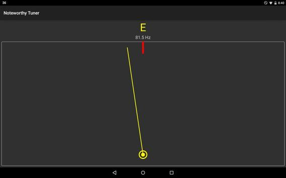 Noteworthy Tuner screenshot 3