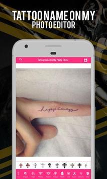 Tattoo Name On My Photo Editor apk screenshot