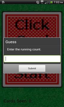 BlackJack Counter apk screenshot