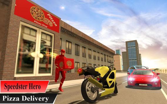 Super Flash Speed Hero Pizza Delivery screenshot 6
