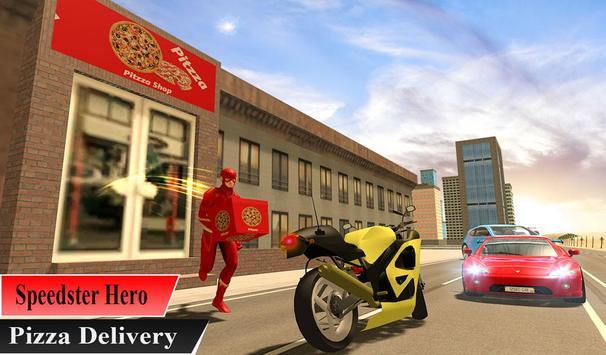 Super Flash Speed Hero Pizza Delivery screenshot 10