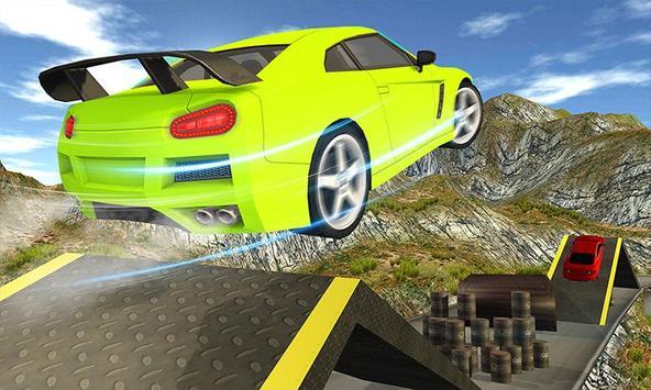 Superhero Cop Car & Bike Stunt Racing screenshot 5