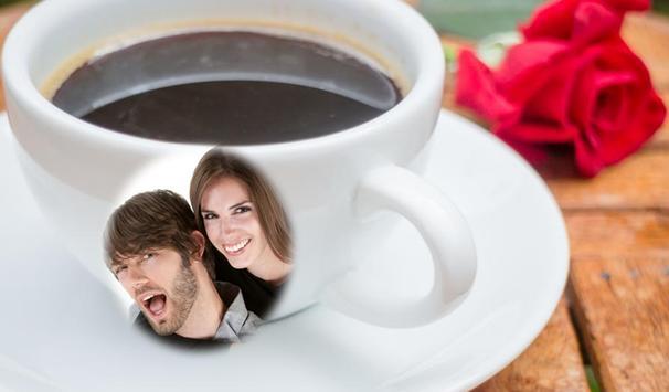 صورتك وصور حبيبك في اكواب قهوة screenshot 4