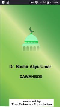 Dr Bashir Aliyu Umar DawahBox poster