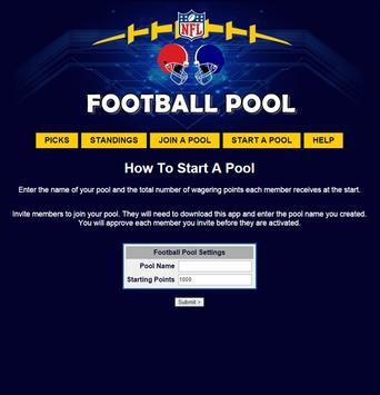 NFL Pool Office Football Pool apk screenshot