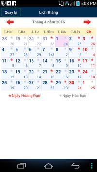 VietNam Calendar screenshot 1
