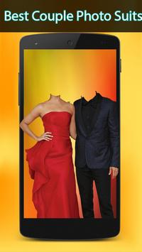 Couple Photo Suit Editing poster