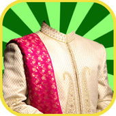 Sherwani Suit Photo effects icon