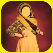 Arabic Women Dress Traditional icon