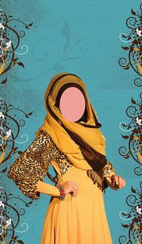 Arabic Women Dress Traditional poster