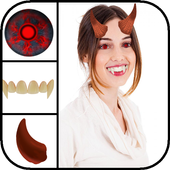Vampire Face Photo Stickers icon