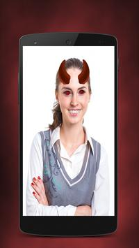 Vampire Face Photo Stickers screenshot 2