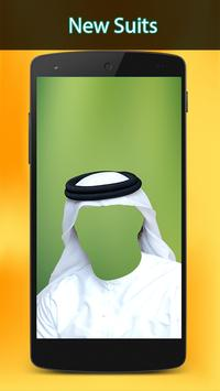 Arab Man Suit photo apk screenshot