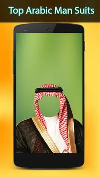 Arab Man Suit photo poster