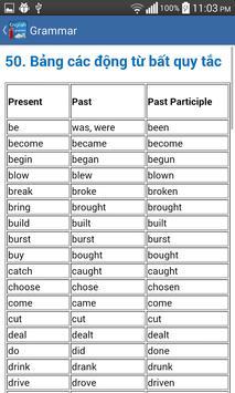 Ngu phap tieng anh - grammar screenshot 5