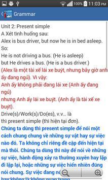 Ngu phap tieng anh - grammar screenshot 7