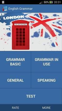 Ngu phap tieng anh - grammar poster