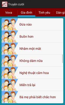 Truyen cuoi offline apk screenshot