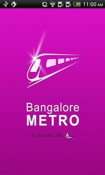 Bangalore Metro poster