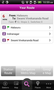 Bangalore Metro screenshot 3