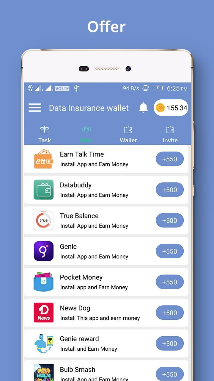 Data Insurance wallet for Android - APK Download