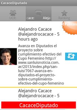 Cacace Diputado screenshot 2