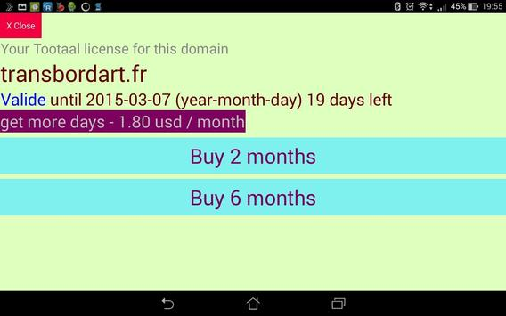Web analytics from Tootaal screenshot 3