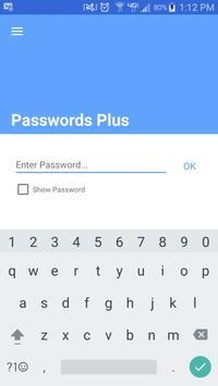Poster Passwords Plus Password Mgr