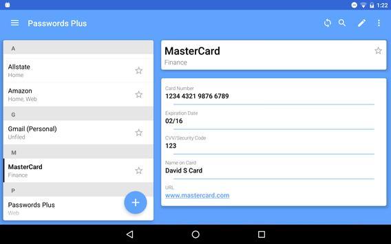 Passwords Plus Password Mgr screenshot 13