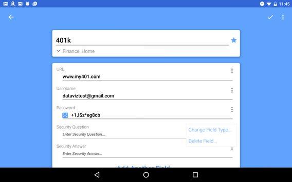 Passwords Plus Password Mgr screenshot 14