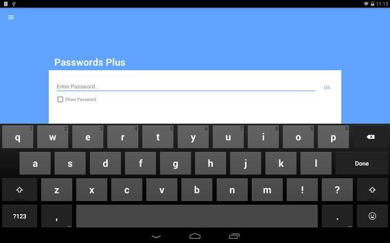 Passwords Plus Password Mgr screenshot 7