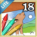 Coloring Book 18 Lite: Forest Babies APK