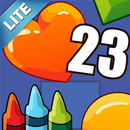 Coloring Book 23 Lite: Counting Shapes APK