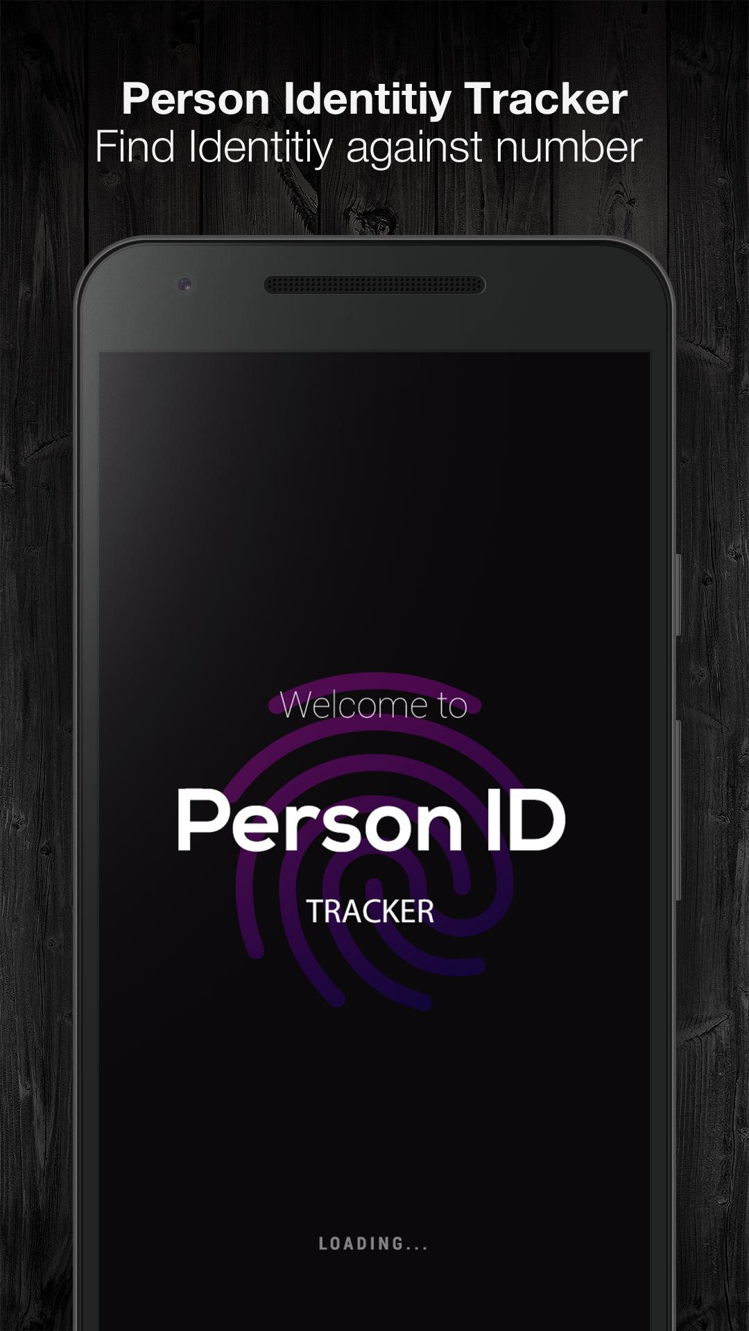 Person ID Tracker for Android - APK Download