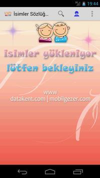 isimler Sözlüğü EX poster
